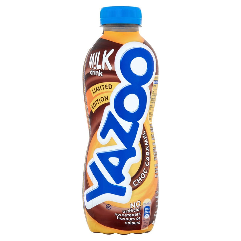 Yazoo Chilled Chocolate Caramel Flavour Milkshake 400ml