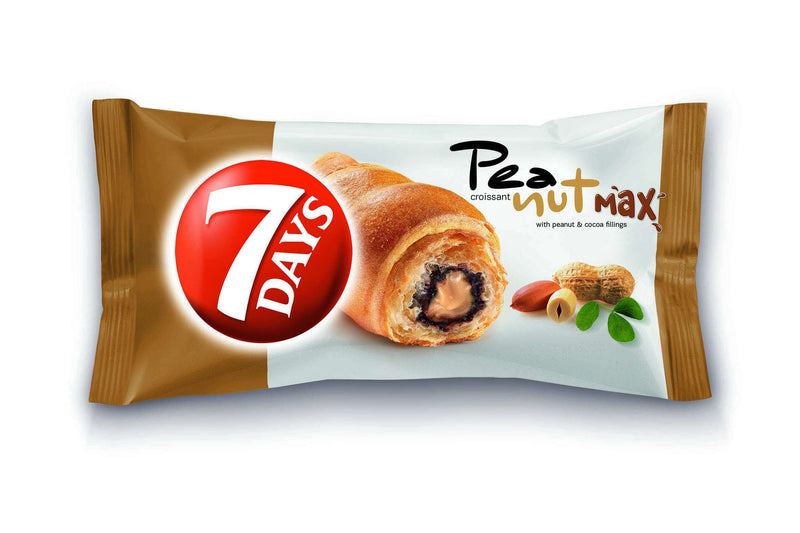 7 Days Max Croissant with Peanut & Cocoa Filling 80G