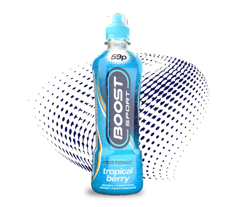 Boost Sport Isotonic Tropical Berry, 500ml