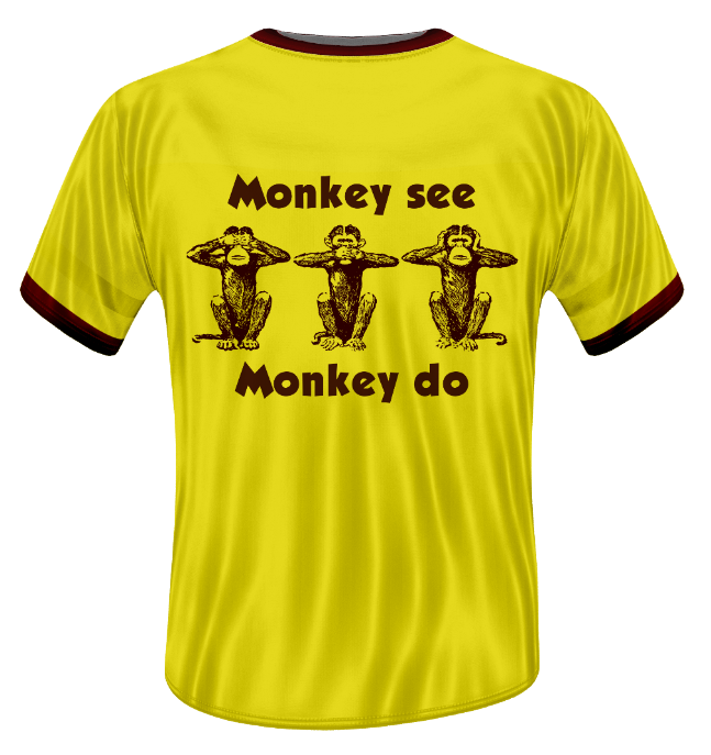 Design Fiction - Semaine 19: Monkey See, Monkey Do.