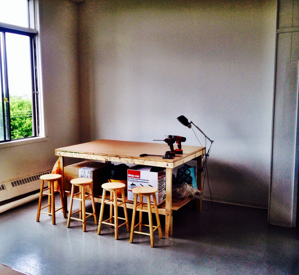 Taïga's new workshop | Suite 304