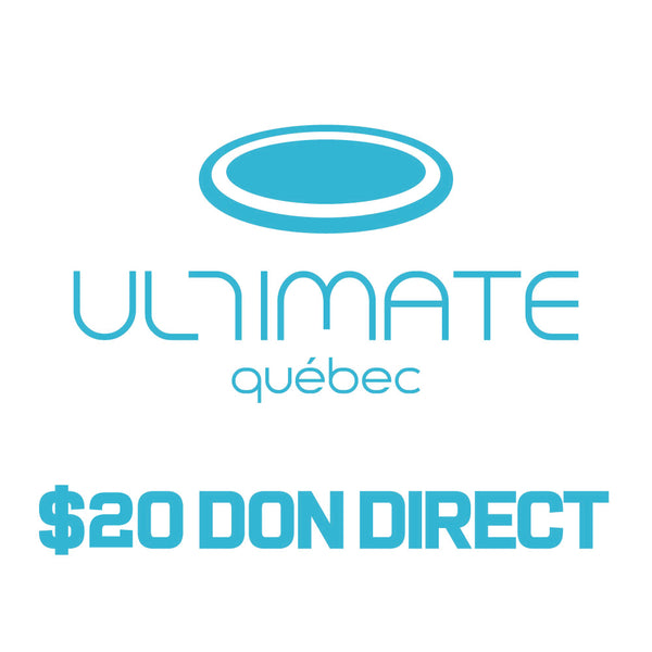 Ultimate Québec Donation - $20