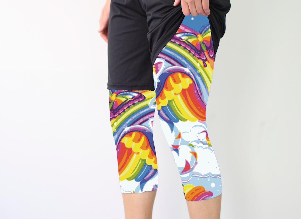 Rainbow Cats Full Sub Leggings