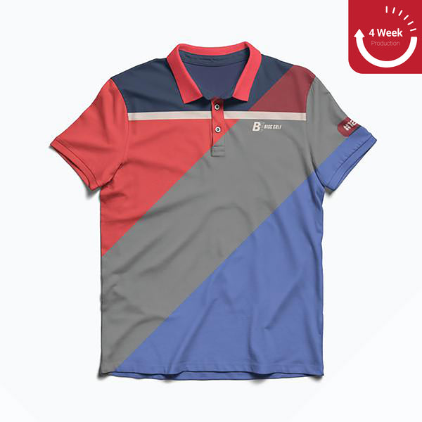 Color Block Polos | BE Disc Golf
