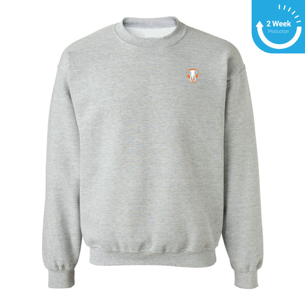 Embroidered Crewneck | Toronto Grand Trunk Winter Apparel