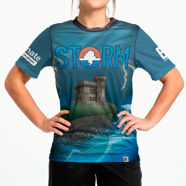 Full Sub N-Knit Short Sleeve Dark | St. John's Storm Juniors