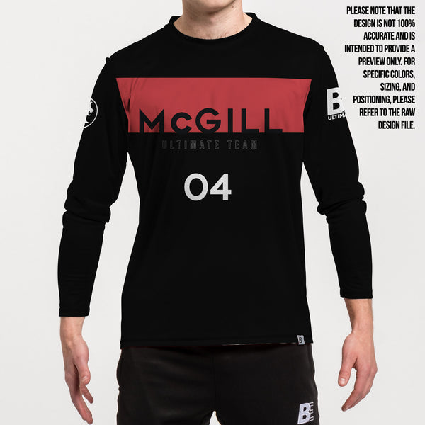 Full Sub N-Knit Long Sleeve Black | McGill University MUT Winter 2020