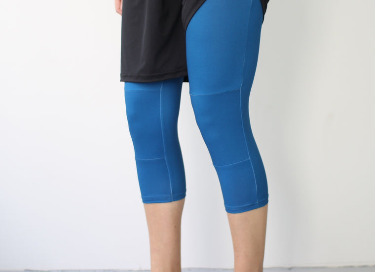 Women's Full Sub Leggings | Deep Blue