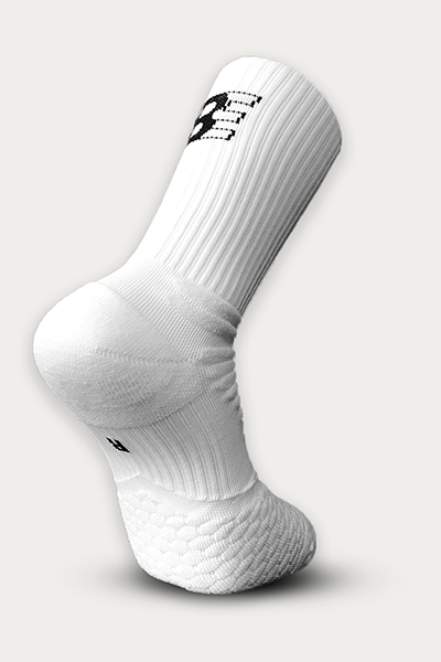 White Enduro Socks