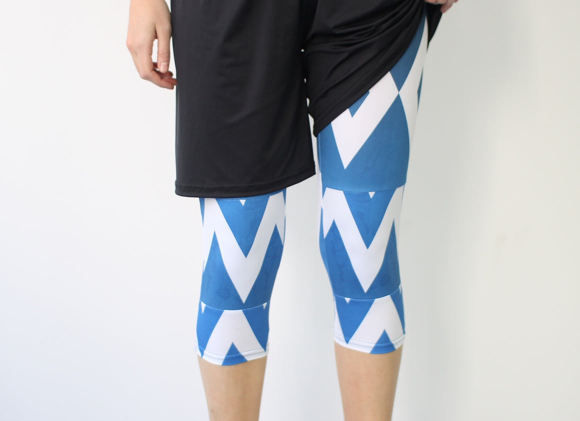 Women's Full Sub Leggings | Ice Blocks