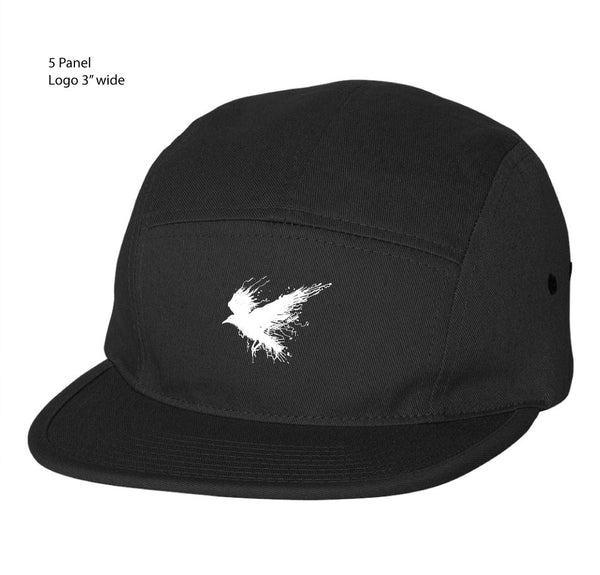 5 Panel Embroidered Hat | Lore Extras Order 2019