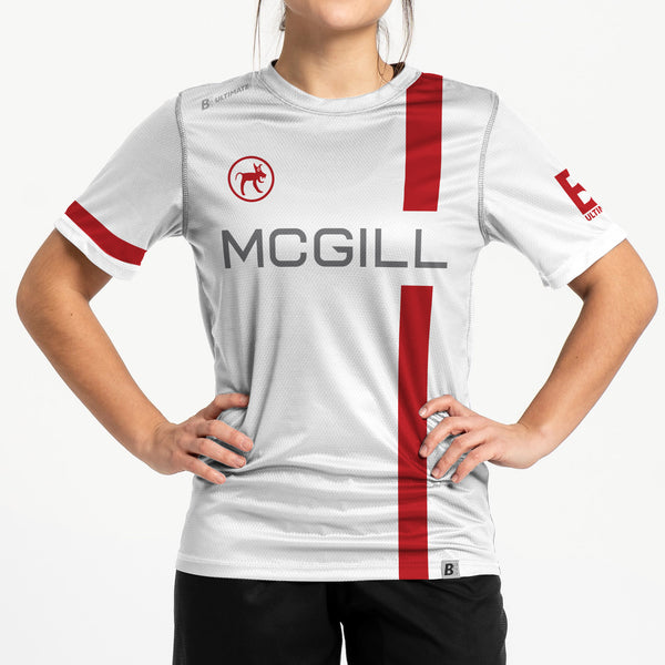 Full Sub N-Knit Short Sleeve White | McGill University MUT Winter 2020