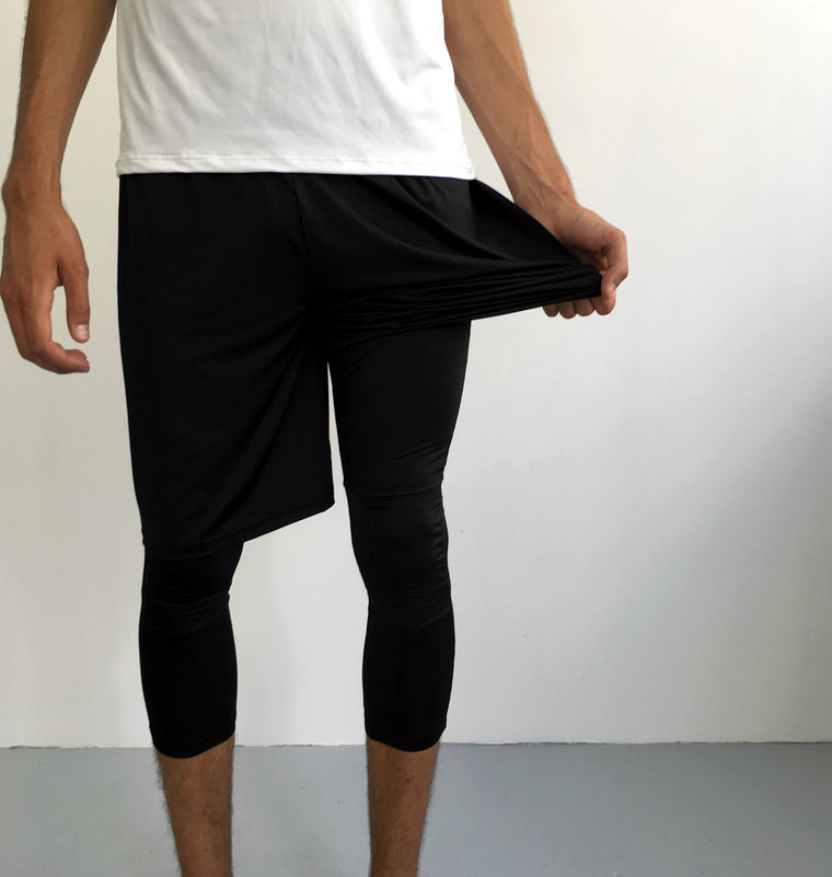 Black Leggings | Thin Layer