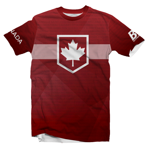 Ultilife || Oh Canada Red Short Sleeve