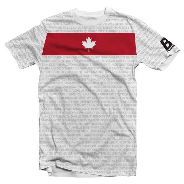 Ultilife || Oh Canada White Short Sleeve