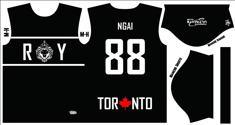 Roy Ultimate Dark Fully Sublimated Jersey
