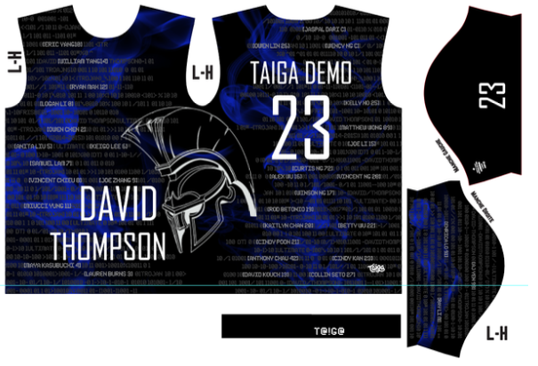 David Thompson Ultimate Fully Sublimated Jersey