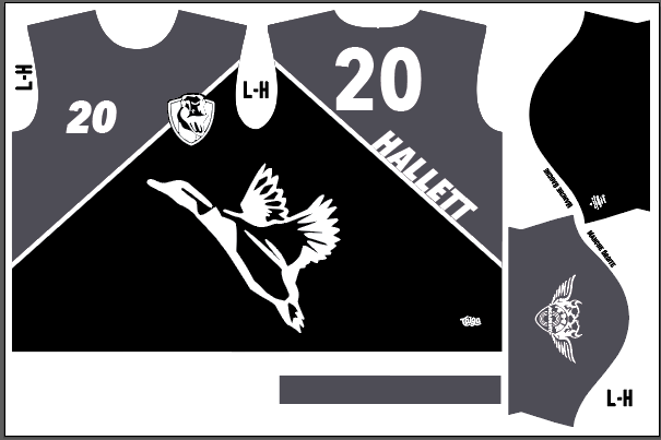 Goose Ultimate Fully Sublimated Dark Jersey