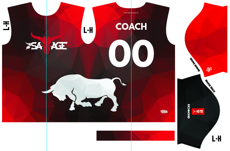 Savage Ultimate Fully Sublimated Dark Jersey