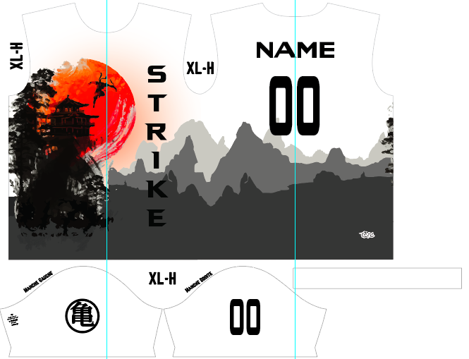 Strike Ultimate Fully Sublimated White Jersey