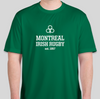Montreal Irish Rugby FC SS Performance Tee (Green)