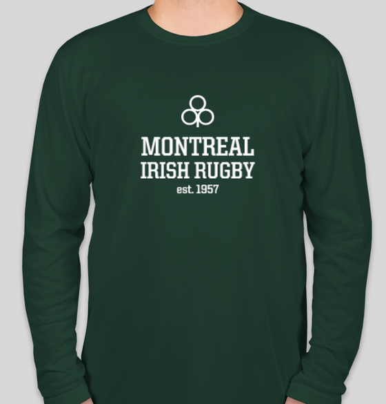 Montreal Irish Rugby FC LS Performance Tee (Green)