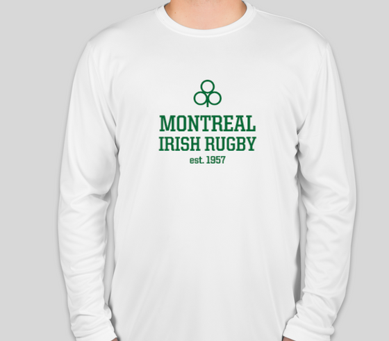 Montreal Irish Rugby FC LS Performance Tee (White)