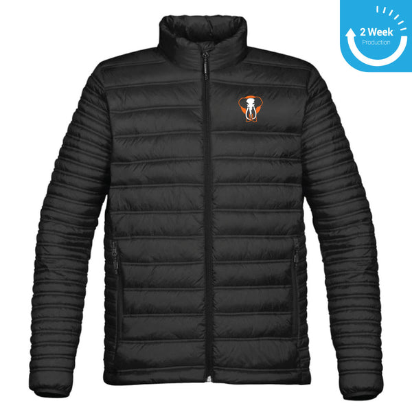 Embroidered Thermal Jacket | Toronto Grand Trunk Winter Apparel