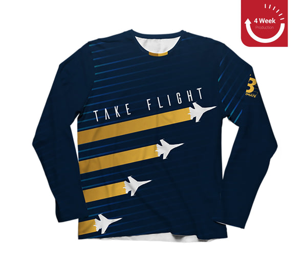 Take Flight Dark Long Sleeve | Ultilife