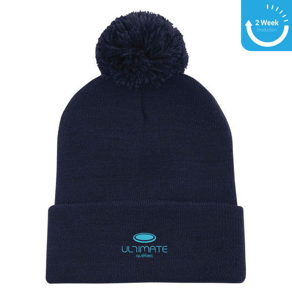 Embroidered Toque Navy |  Ultimate Québec