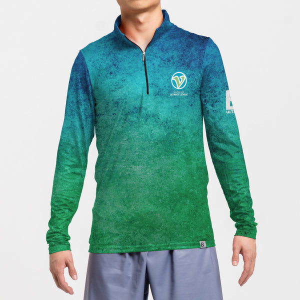 1/4 Zip Long Sleeve | Vancouver Ultimate League