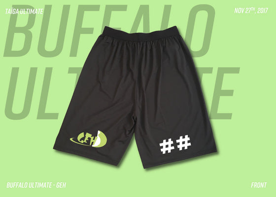 Buffalo GEH Screen Print Shorts