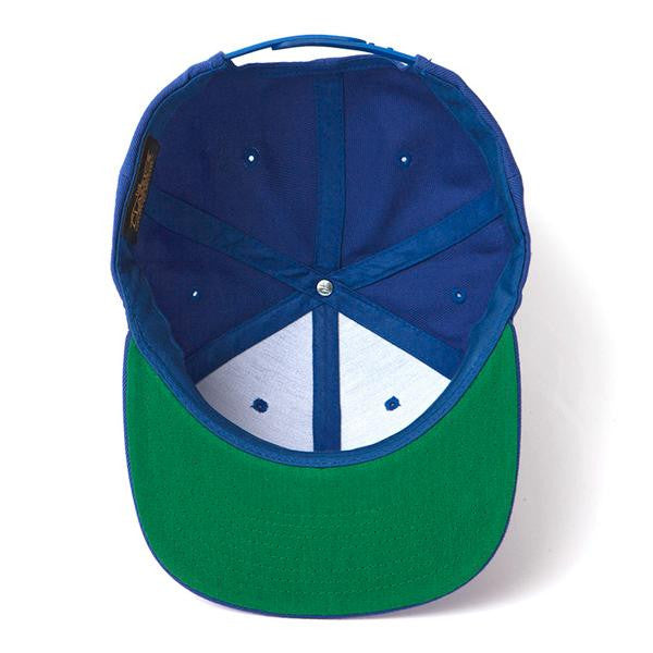 Club M Blue Flatbill Hat