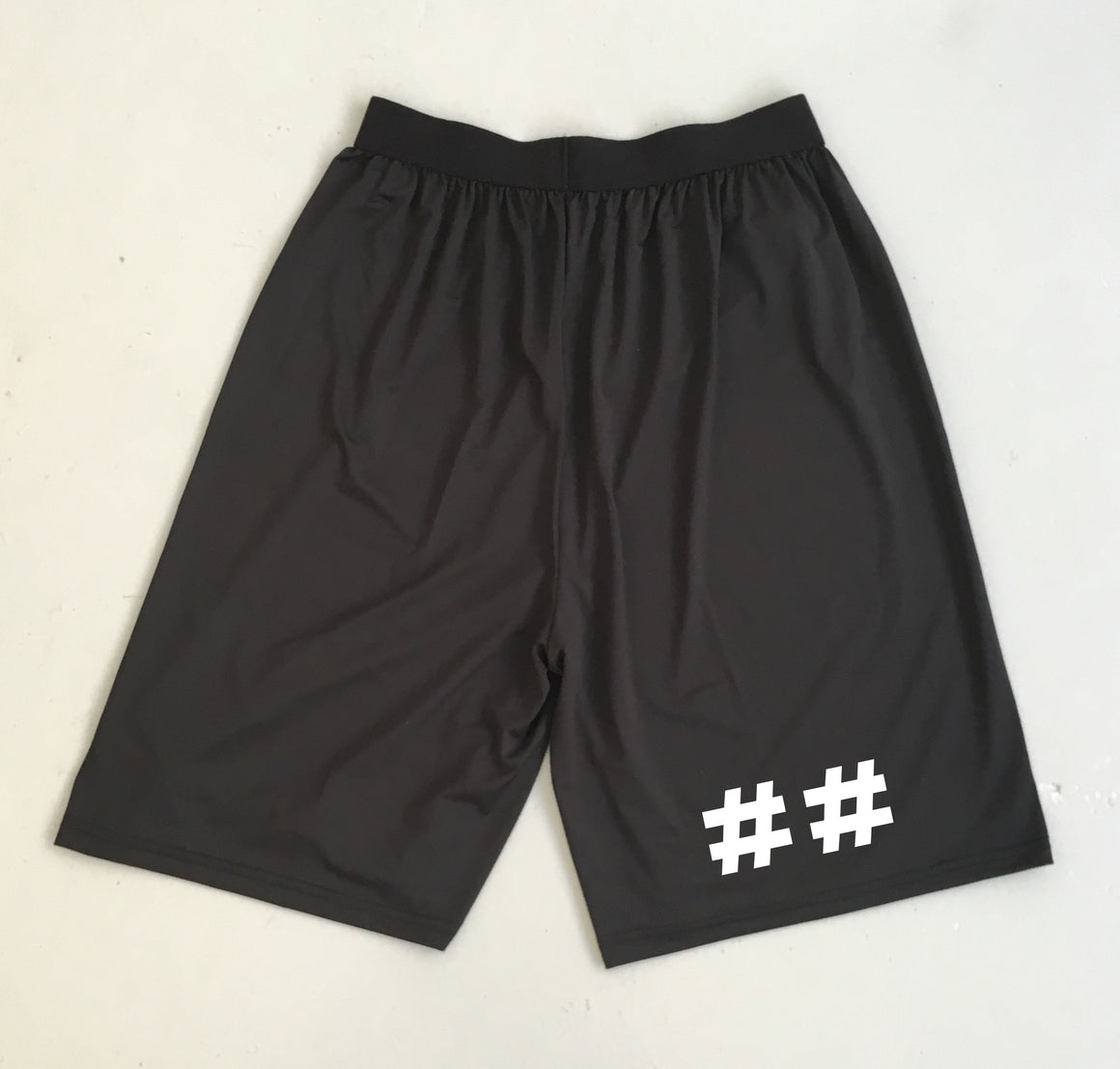 Carpe Discum Screen Print Shorts