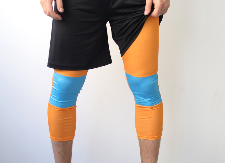 Men's Ultimate Full Sub Leggings | Blue Oranges