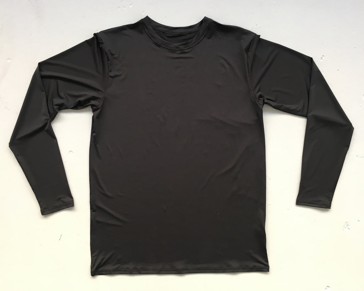 Black Long Sleeve Jersey | Blank