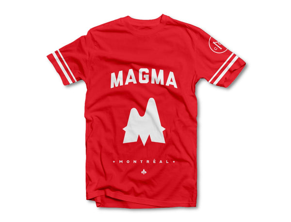 Full Sub N-Knit Short Sleeve Dark | Magma