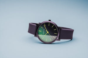 Bering True Aurora Mat Purple Watch 40mm