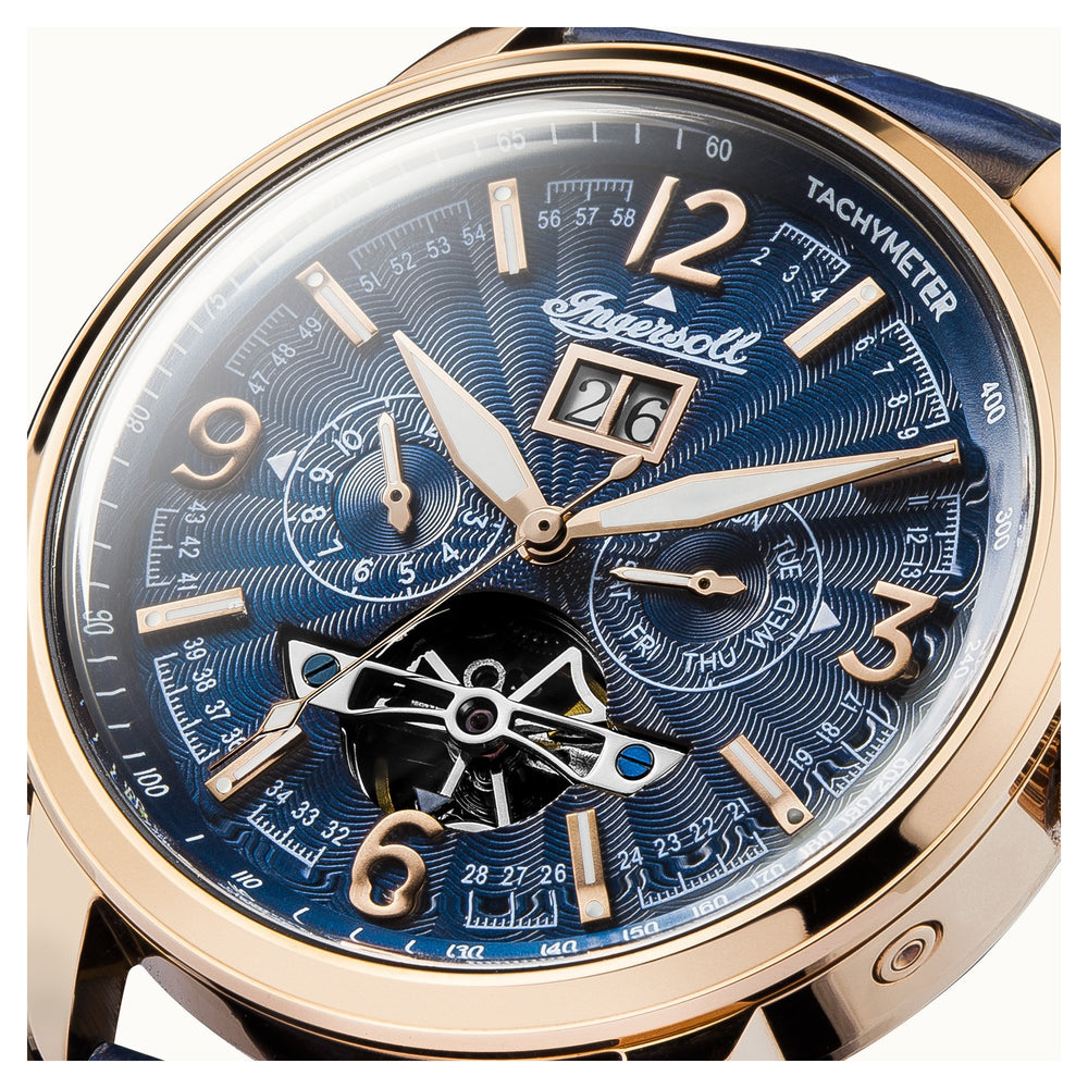 Ingersoll Regent Blue Automatic Watch