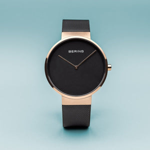 Bering Classic Brushed Gold 39mm Watch