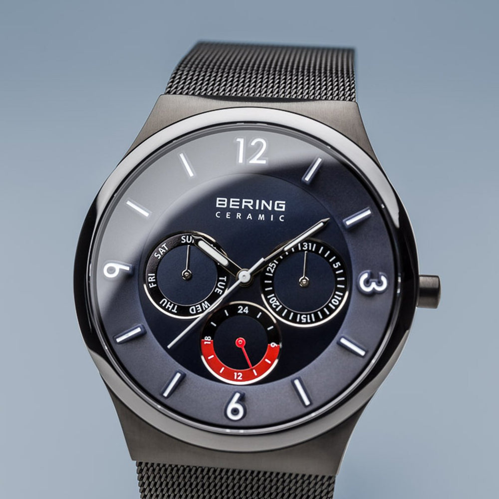 Load image into Gallery viewer, Bering Ceramic Brushed Black Watch