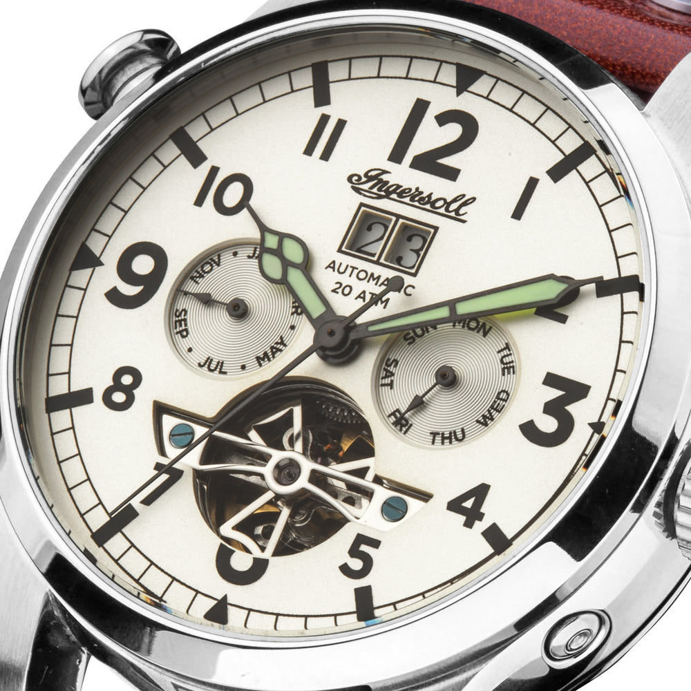 Ingersoll Armstrong Automatic Brown Watch