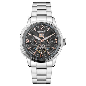 Load image into Gallery viewer, Ingersoll Regent Automatic Silver Bracelet Watch
