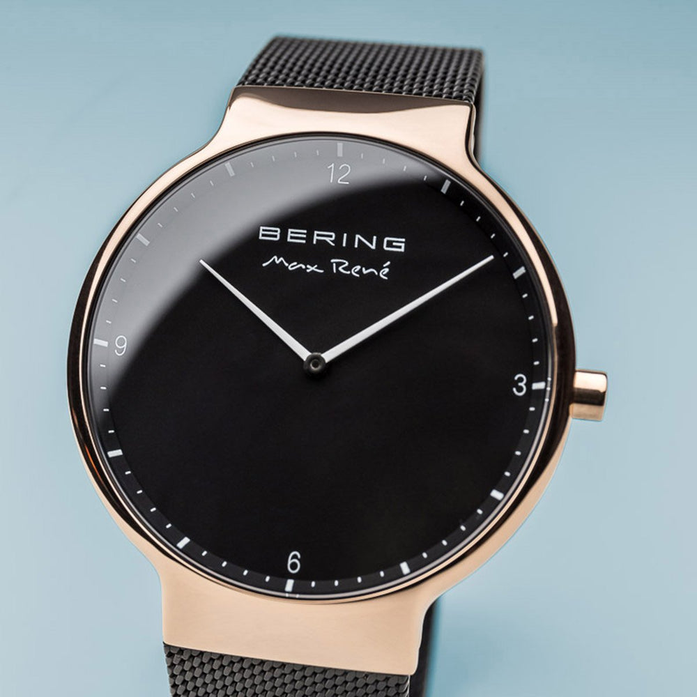 Bering Max René Polished Rose Gold Watch