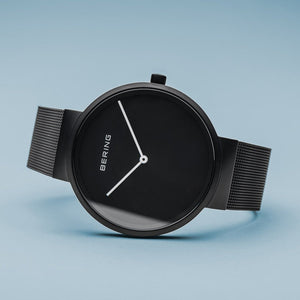 Bering Classic Matt Black 39mm Watch