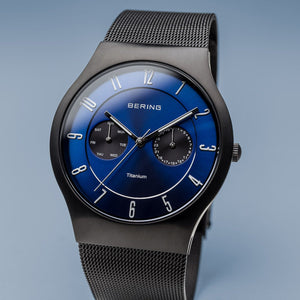 Load image into Gallery viewer, Bering Sale Titanium Brushed Black Watch