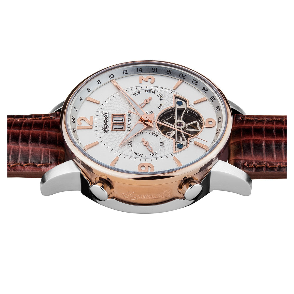 Ingersoll Grafton Automatic Brown Watch