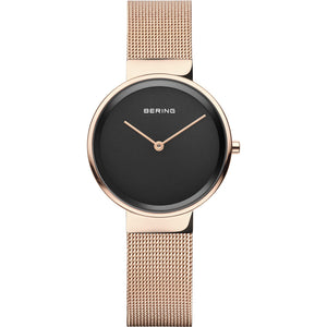 Bering Classic Polished Rose Gold 31mm Watch