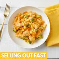 Gemelli Mac & Cheese with Chicken & Broccoli