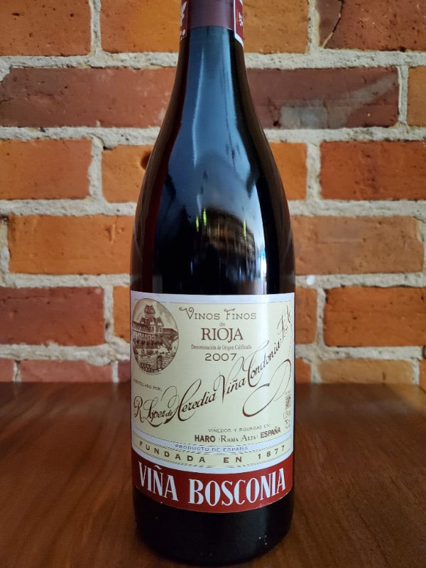 Lopez de Heredia Vina Bosconia'07 Rioja, Spain